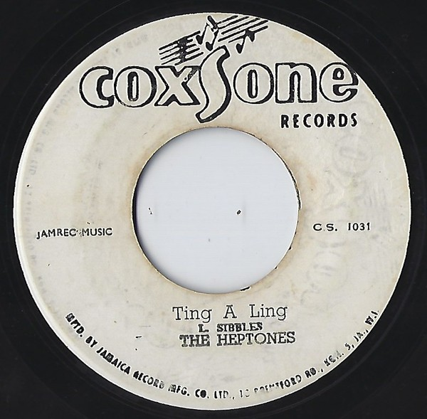 Heptones : Ting A Ling   Single / 7inch / 45T     Oldies / Classics