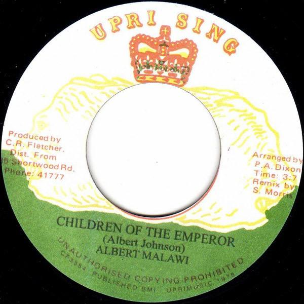 Albert Malawi : Children Of The Emperor   Single / 7inch / 45T     Oldies / Classics