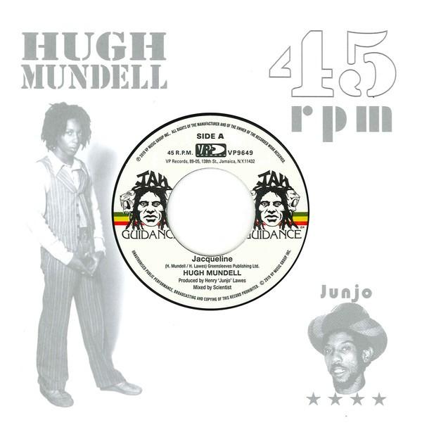 Hugh Mundell : Jacqueline