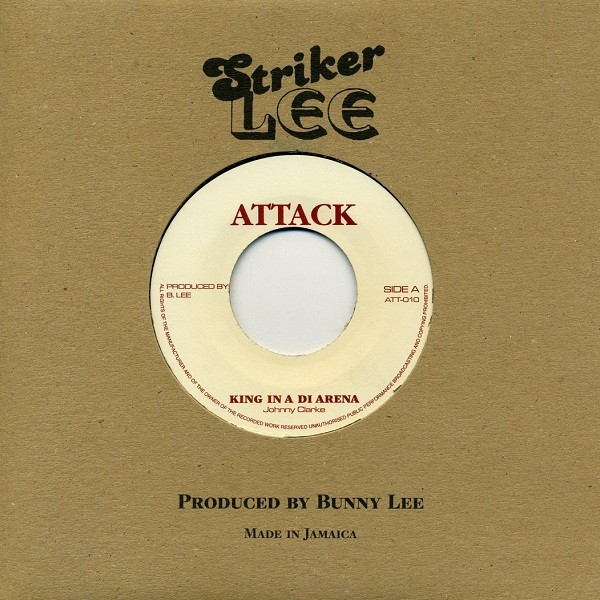 Johnny Clarke : King In The Arena | Single / 7inch / 45T  |  Oldies / Classics