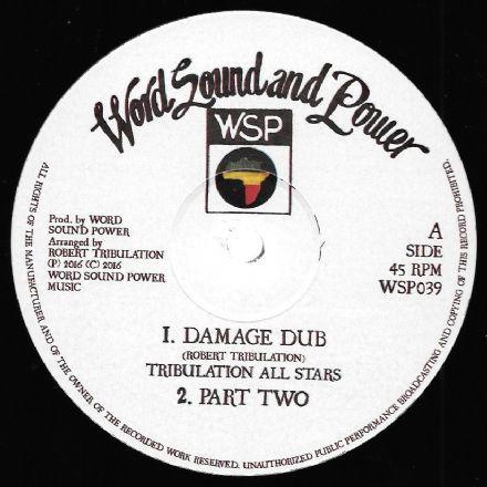 Tribulation All Stars : Damage Dub   Maxi / 10inch / 12inch     UK