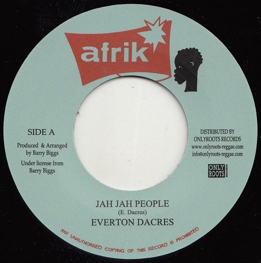 Everton Dacres : Jah Jah People | Single / 7inch / 45T  |  Oldies / Classics