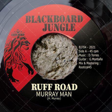 Murray Man : Ruff Road | Single / 7inch / 45T  |  UK