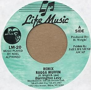 Barrington Levy : Remix Ragga Muffin | Single / 7inch / 45T  |  Oldies / Classics