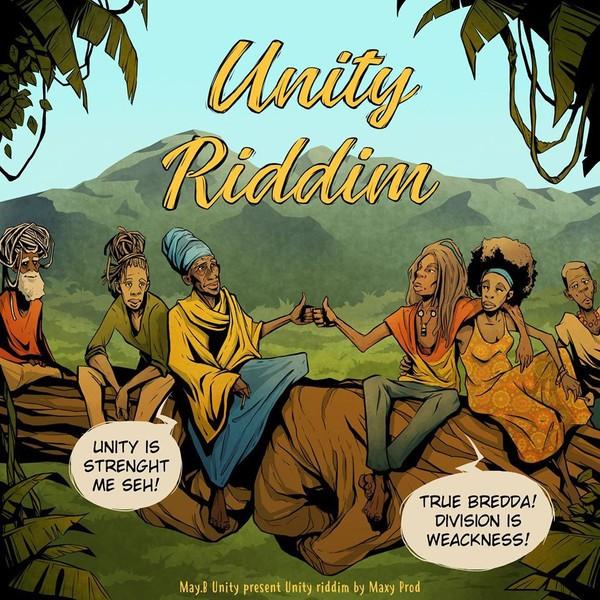Various : Unity Riddim | LP / 33T  |  Dancehall / Nu-roots