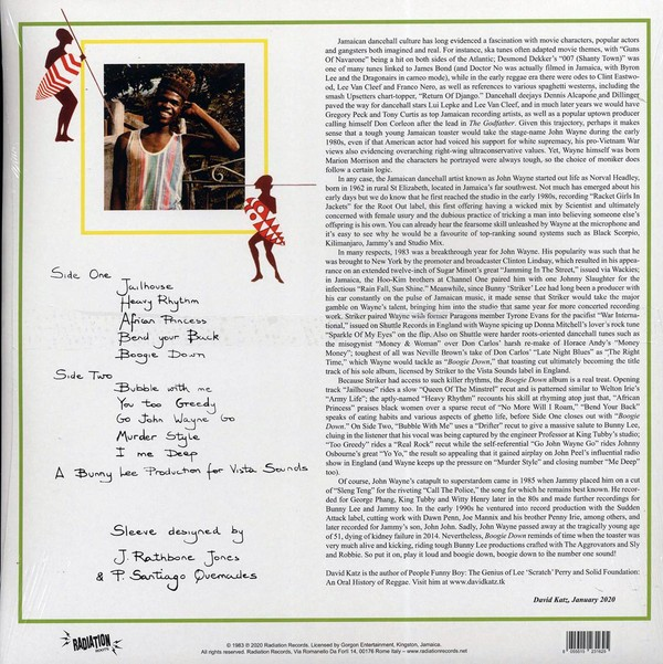 John Wayne : Boogie Down   LP / 33T     Oldies / Classics