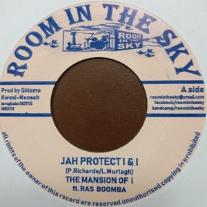 The Mansion Of I & Ras Boomba : Jah Protect I & I | Single / 7inch / 45T  |  Dancehall / Nu-roots