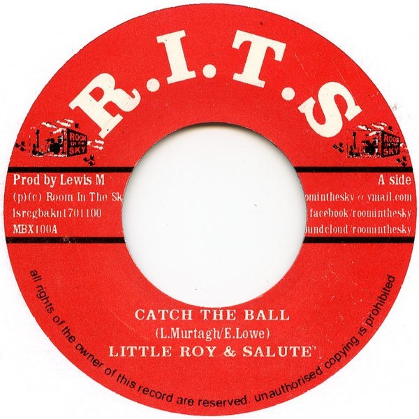 Little Roy & Salute : Catch The Ball | Single / 7inch / 45T  |  Dancehall / Nu-roots