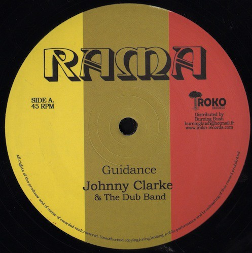 Johnny Clarke : Guidance | Maxi / 10inch / 12inch  |  Oldies / Classics