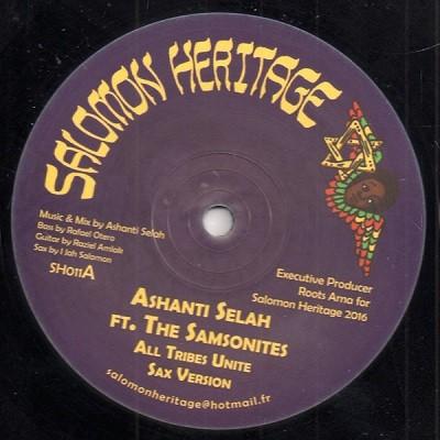 Ashanti Selah Ft. The Samsonites : All Tribes Unite | Maxi / 10inch / 12inch  |  UK