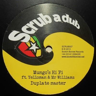 Mungo's Hi Fi Ft. Yellowman & Mr Williamz : Dubplate Master   Maxi / 10inch / 12inch     Jungle / Dubstep
