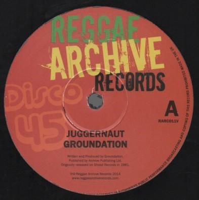 Groundation : Juggernaut | Maxi / 10inch / 12inch  |  Oldies / Classics