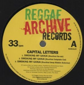 Capital Letters : Smoking My Ganja | Maxi / 10inch / 12inch  |  Oldies / Classics