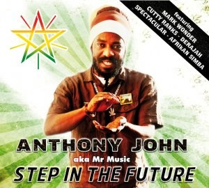 Anthony John - Aka Mr Music : Step In The Future | CD  |  Dancehall / Nu-roots