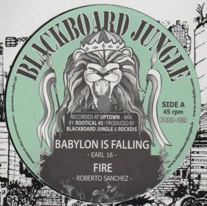 Earl 16 : Babylon Is Falling | Maxi / 10inch / 12inch  |  UK