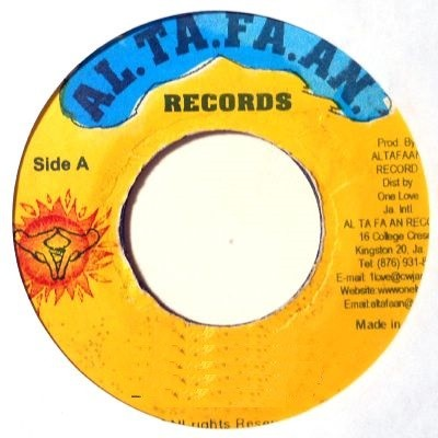 Michael Rose & Blessed : Gi Mi A Little | Single / 7inch / 45T  |  Dancehall / Nu-roots