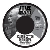 Joseph Cotton : The Digital | Single / 7inch / 45T  |  Dancehall / Nu-roots