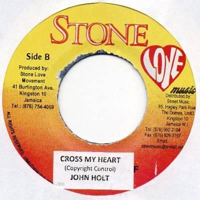 John Holt : Cross My Heart | Single / 7inch / 45T  |  Dancehall / Nu-roots