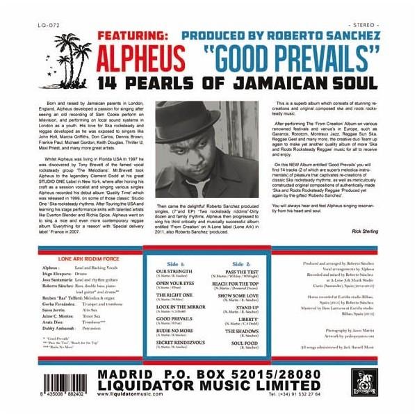Alpheus : Good Prevails | LP / 33T  |  Oldies / Classics