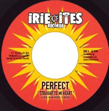 Perfect Giddimani : Straight To Mi Heart | Single / 7inch / 45T  |  Dancehall / Nu-roots
