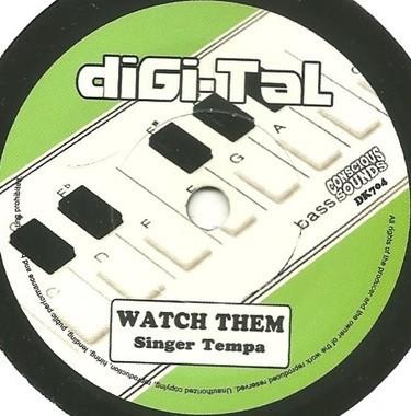 Singer Tempa : Watch Them | Single / 7inch / 45T  |  UK