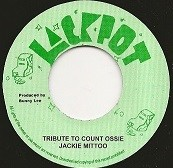 Jackie Mittoo : Tribute To Count Ossie | Single / 7inch / 45T  |  Oldies / Classics