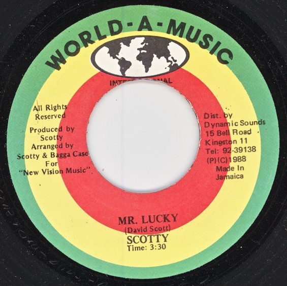 Scotty : Mr Lucky | Single / 7inch / 45T  |  Oldies / Classics