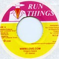 Gregory Isaacs : Www.love.com | Single / 7inch / 45T  |  Dancehall / Nu-roots