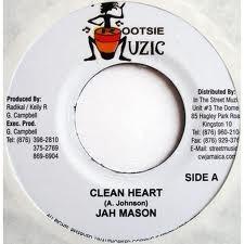 Jah Mason : Clean Heart | Single / 7inch / 45T  |  Dancehall / Nu-roots