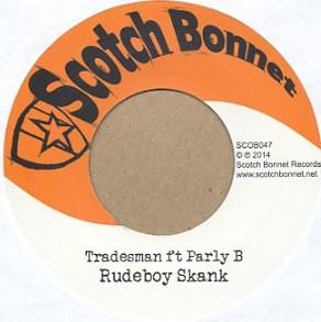 Parly B : Rudeboy Skank   Single / 7inch / 45T     UK