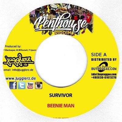 Beenie Man : Survivor   Single / 7inch / 45T     Dancehall / Nu-roots