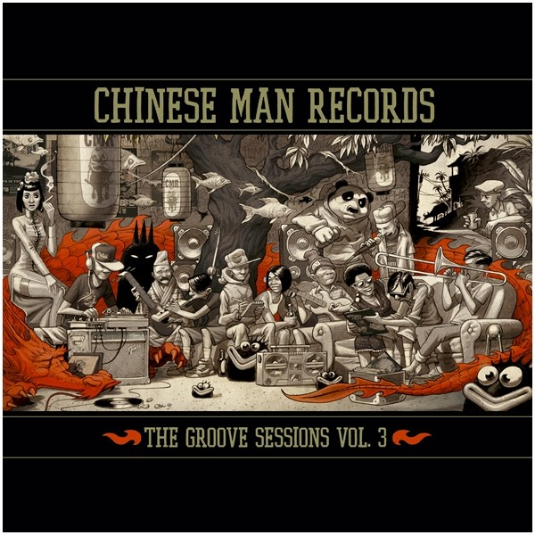 Chinese Man : The Groove Sessions Vol. 3   LP / 33T     Mash Ups / Remixs