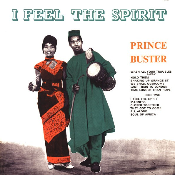 Prince Buster : I Feel The Spirit | LP / 33T  |  Oldies / Classics