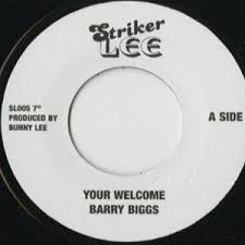 Barry Biggs : Your Welcome