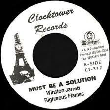 Winston Jarrett : Must Be A Sollution | Single / 7inch / 45T  |  Oldies / Classics