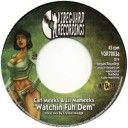 Carl Meeks & Lil Mameeks : Watchin Fuh Dem | Single / 7inch / 45T  |  Dancehall / Nu-roots