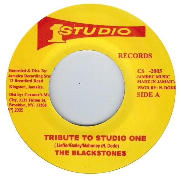 The Blackstones : Tribute To Studio 1 | Single / 7inch / 45T  |  Oldies / Classics