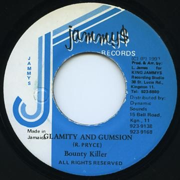 Bounty Killer : Glamity And Gumsion | Single / 7inch / 45T  |  Oldies / Classics