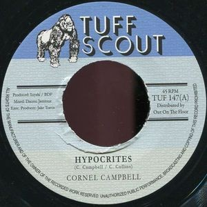 Cornell Campbell : Hypocrites | Single / 7inch / 45T  |  Dancehall / Nu-roots
