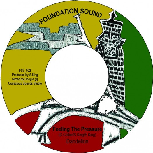 Dandelion : Feeling The Pressure   Single / 7inch / 45T     UK