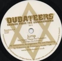 Ras Negus Meets The Dubateers : Jump | Single / 7inch / 45T  |  UK