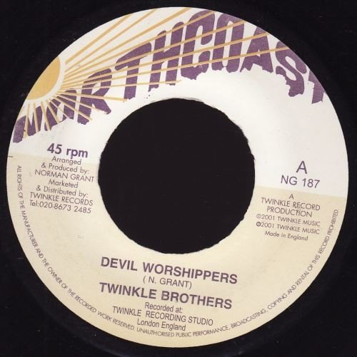 Twinkle Brothers : Devil Worshippers   Single / 7inch / 45T     UK