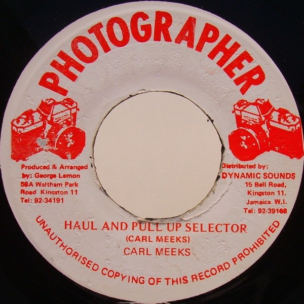 Carl Meeks : Haul And Pull Up | Single / 7inch / 45T  |  Oldies / Classics