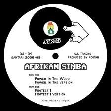 Afrikan Simba : Power In The Word   Maxi / 10inch / 12inch     UK