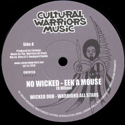 Eek A Mouse : No Wicked | Maxi / 10inch / 12inch  |  UK