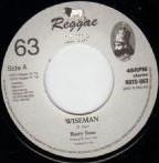 Barry Issac : Wiseman   Single / 7inch / 45T     UK