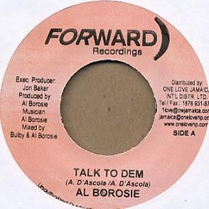 Alborosie : Talk To Dem | Single / 7inch / 45T  |  Dancehall / Nu-roots