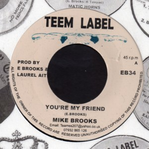 Mike Brooks : You're My Friend | Single / 7inch / 45T  |  Oldies / Classics