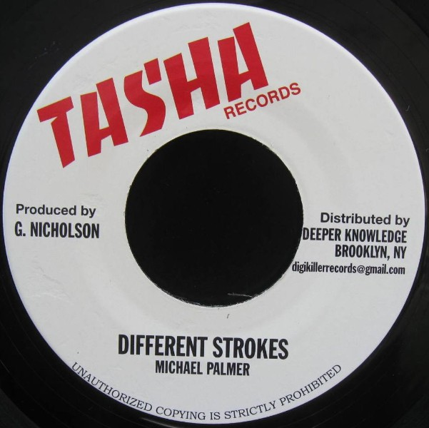 Michael Palmer : Different Strokes | Single / 7inch / 45T  |  Dancehall / Nu-roots