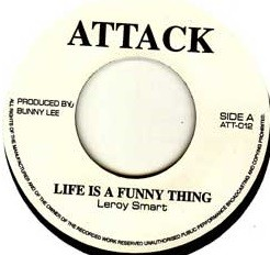 Leroy Smart : Life Is A Funny Thing | Single / 7inch / 45T  |  Oldies / Classics